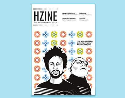 HZINE - magazine - Illustration and Graphic design