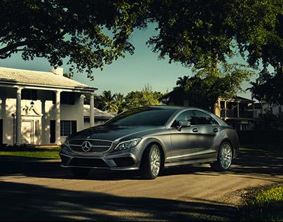 Mercedes-Benz CLS CGI+Retouching