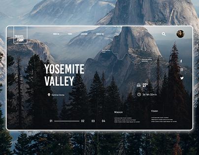 Travel Website UI UX Design