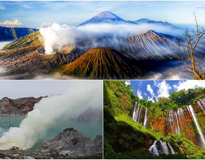Mount Bromo, Tumpak Sewu Waterfall, Ijen Crater tour