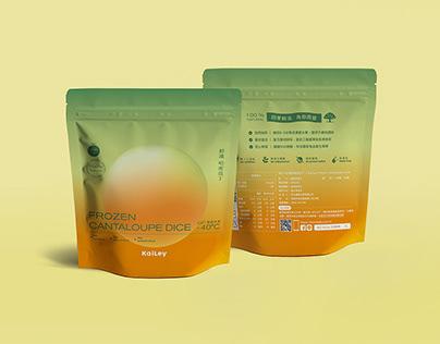 KaiLey Frozen Fruit Package Design冷凍水果包裝