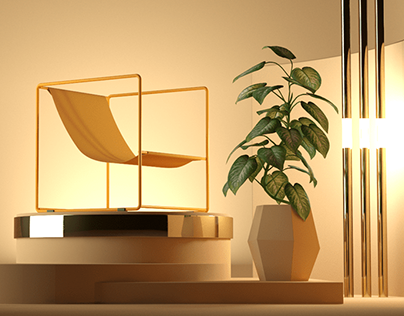 Icecube Chair / Set Design