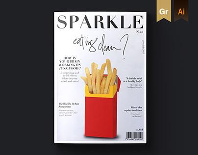 SPARKLE Magazine / Editorial design