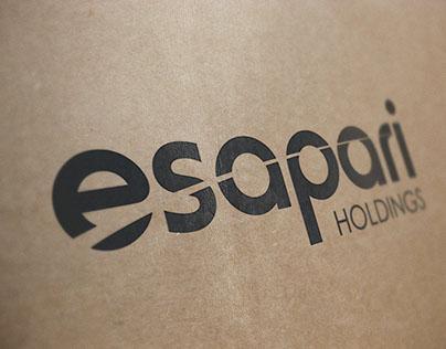 Esapari Holdings Logo Development