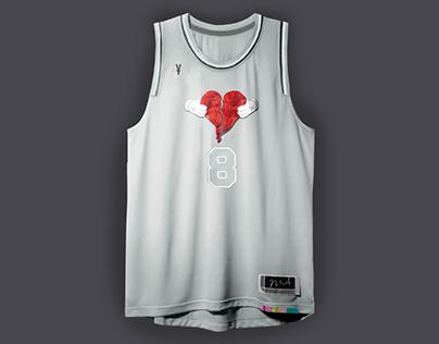 NBA Rap Album Covers x NBA Jerseys 2.0