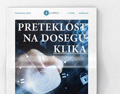 A newspaper for the State Archives of Slovenia