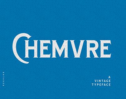 Chemvre Vintage Typeface