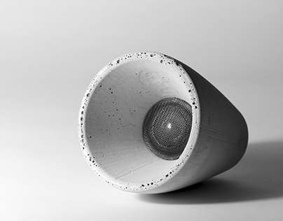 Béton | Concrete Speaker