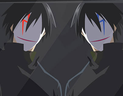 Illustration - Darker Than Black