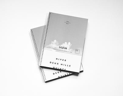 Agenda UQÀM - Hiver 2015