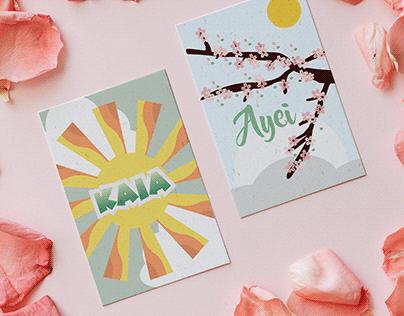 Digital Art: Postcards