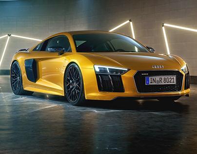Audi R8 V10 Plus – Full CGI