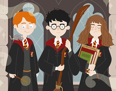 Harry Potter Fan Art Illustration