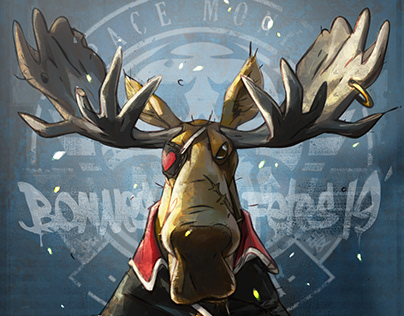 XMAS 2019 moose pirate