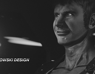 Harrison Ford Blade Runner Replicant Poster