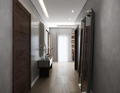 Silver Palm Apartment Design & Visualization