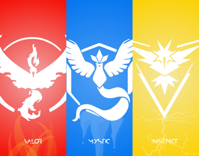 Pokemon Go Teams Wallpapers