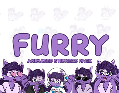FURRY - animated sticker pack