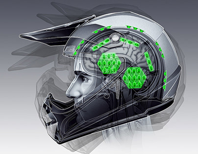 KALI Helmet Illustrations