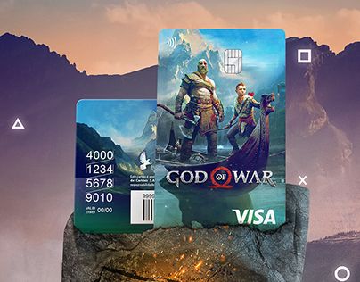 God of War - PS®Cards