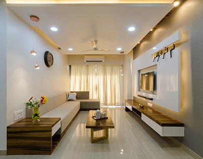 Apartment at Ghatkopar, Brickworks arch studio by Niti