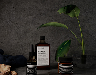 Product Concept Visualization For @aesopskincare