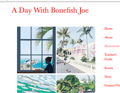 A Day with Bonefish Joe Website