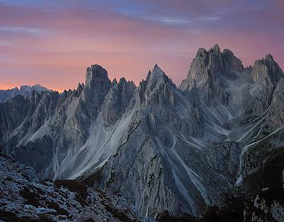 Dolomites : Pale Mountains