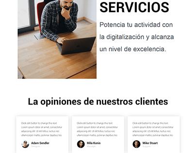 Páginas web hechas en WordPress