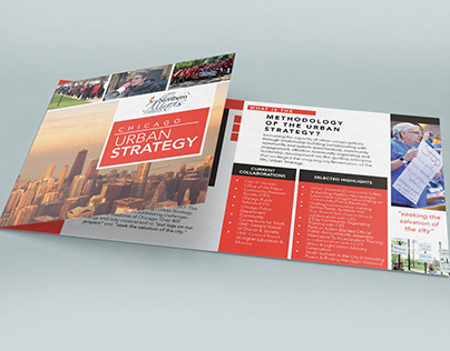 Brochure for Chicago Urban Strategy