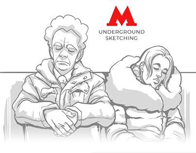 Subway sketches 2014-2017