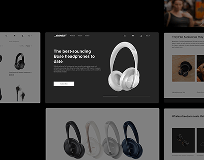 Bose Website | Redesign Concept