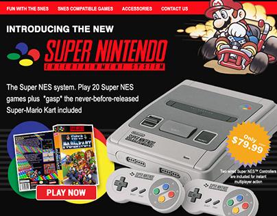 Retro Series #2: Nintendo SuperNES Newsletter
