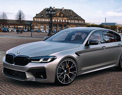 2021 BMW M5 F90 Competition LCI