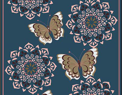 butterfly oriental weavers eg carpet design