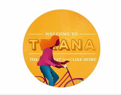 Tirana, the city that feels like home.