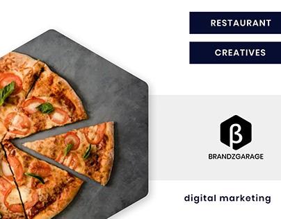 Restaurant Social Media Creatives - BrandzGarage
