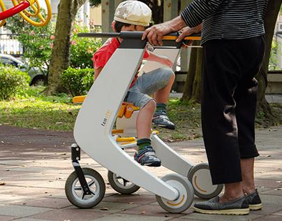 Famster : A Rollator for grandparent & grandchild
