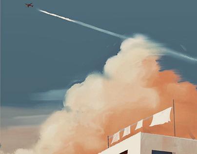 Jet cloud