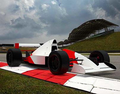 Autos F1 3D
