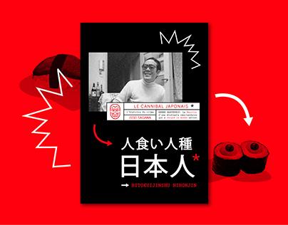 Issei Sagawa - Le Cannibal • PART I • Print • Livret
