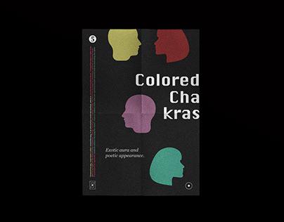 Colored Chakras