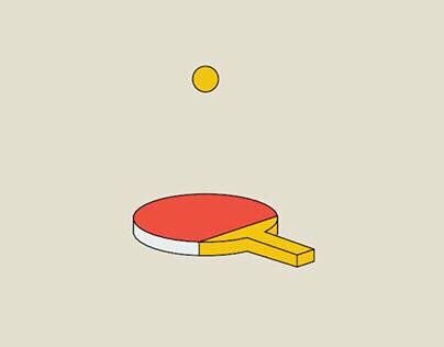 Racket table (sketch & toon)