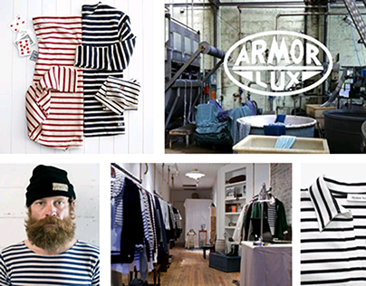 """Concept Store """"HERITAGE"""" / Armor Lux"""
