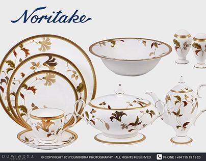 Noritake Porcelain - Photo Shoot & Retouching