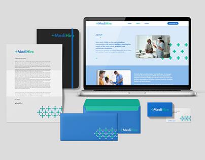MediHire Branding & Website Development
