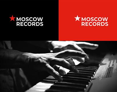 Нейминг и логотип студии звукозаписи «Moscow Records»