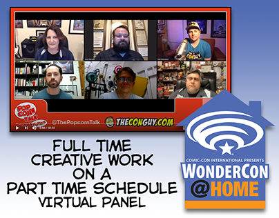 WonderCon @ Home 2020 - Full Time/Part Time Panel