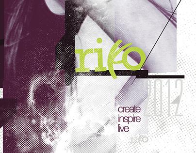 RIKO Mixed Media Poster