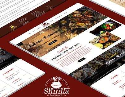 Shimla Restaurant - BrandCrock GmbH